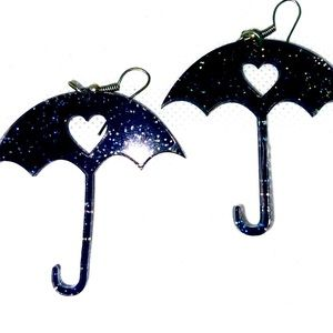 Under My Umbrella Statement Earrings